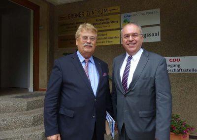 Dr. Burkhard Budde und Elmar Brok