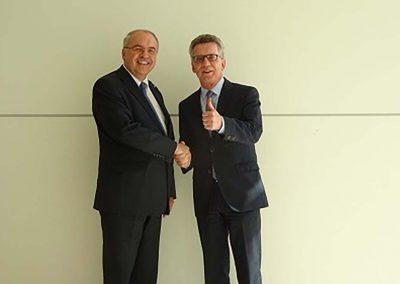 Dr. Burkhard Budde und Thomas de Maiziere