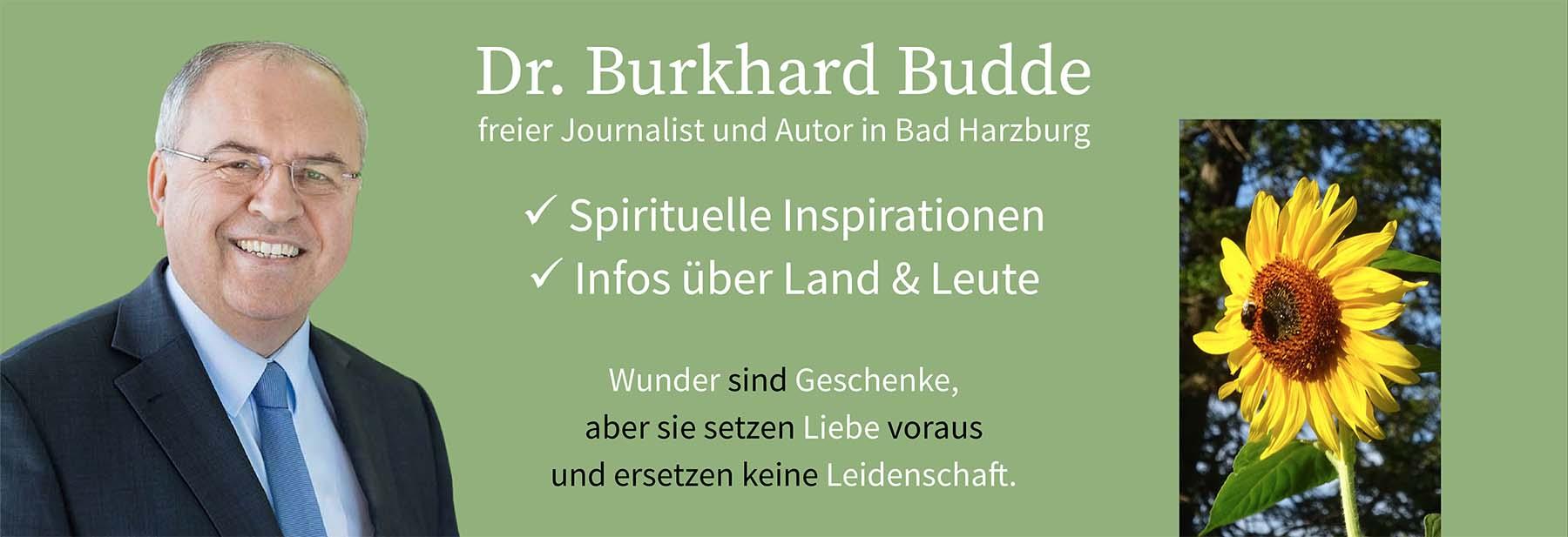 Dr. Burkhard Budde