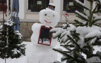 Schnee- oder Schlaumänner